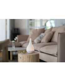 ultrasonic diffuser 130mm- comet white w/white base