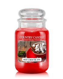 2-Wick L Jar-Hot Chocolate CC