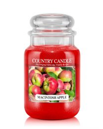 2-Wick L Jar-Macintosh Apple