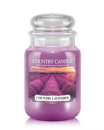 2-Wick L Jar-Country Lavender