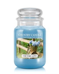 Doftljus Country Candle Stor-Country Love