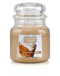 Doftljus Country Candle Mellan-Salted Waffle Cone