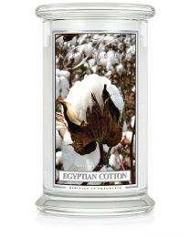 2-Wick L Jar Classic-Egyptian Cotton