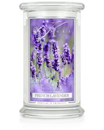 2-Wick L Jar Classic-French Lavender