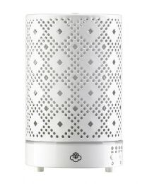 ultrasonic diffuser 90mm- galaxy white w/ white base