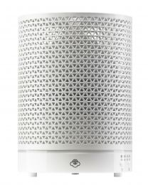 ultrasonic diffuser 125mm- asterism white w/ white base