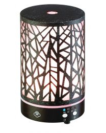 Aroma diffuser 90mm- Forest brown w/dark wood base