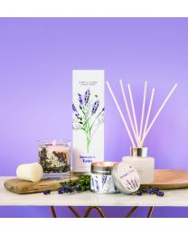 Botanic - Lavender Fields Candle Tin