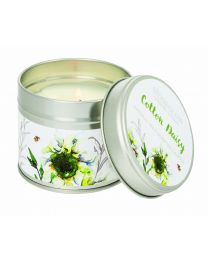 Botanic - Cotton Daisy Candle Tin