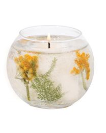 Botanic - Stargazer Lily Natural Wax Fishbowl