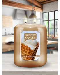 Doftljus Country Candle Stor-Salted Waffle Cone