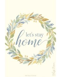 Doftpåse Fresh Scents-Lets Stay Home