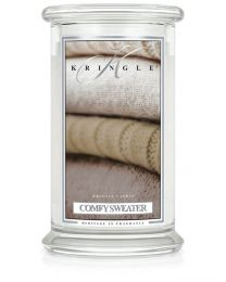 2-Wick L Jar Classic-Comfy Sweater