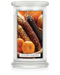 2-Wick L Jar Classic-Autumn Harvest