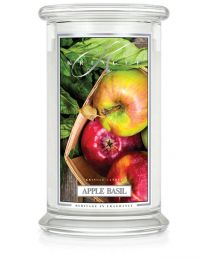 2-Wick L Jar Classic-Apple Basil