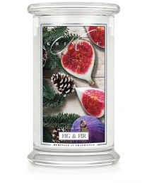 2-Wick L Jar Classic-Fig & Fir