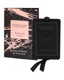 Luna - Dark Amber & Vetiver - Perfume Card